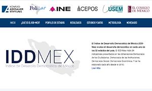 Índice de Desarrollo Democrático de México